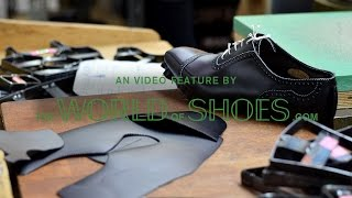 Alfred Sargent Factory Visit - The World of Shoes