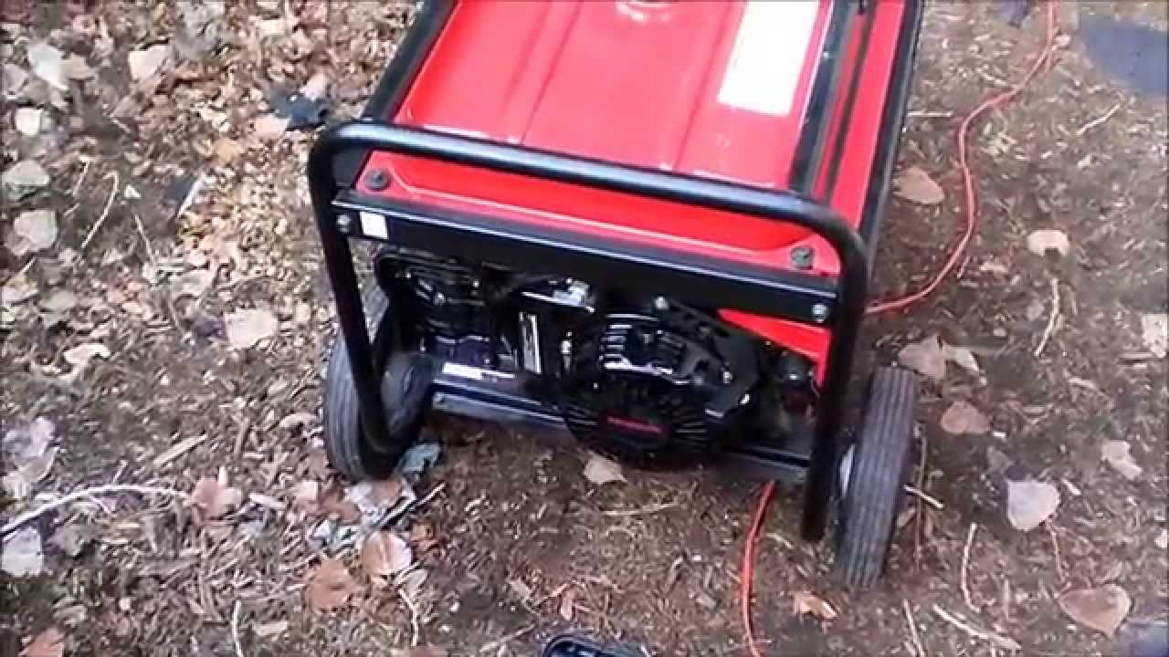 Honda Eb 5000x Generator Repair Youtube Schematics