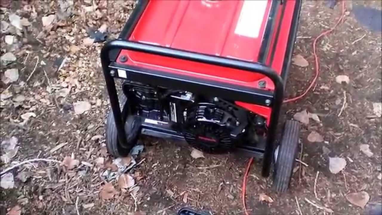 Honda Eb 5000x Generator Repair Youtube Schematics