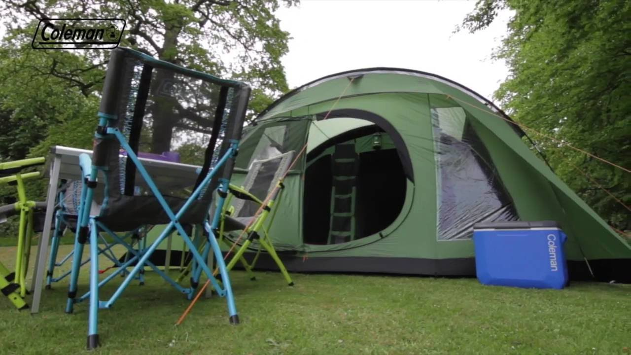 & Coleman® Cabral 5 Family Camping Tent - EN - YouTube