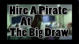 Hire A Pirate at The Big Draw