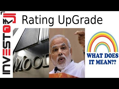 Moody's Rating Upgrade What does it means for India? [Hindi]