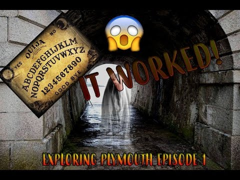 Exploring Plymouth |Episode 1| OUIJA BOARD EXPERIMENT *REAL*