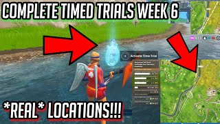 """""""Complete Time Trials"""" *UPDATED* REAL LOCATIONS! FAST & EASY! - Fortnite: Battle Royale!"""