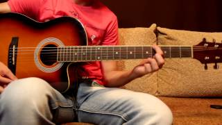 Adele - Rolling in the deep - как играть на гитаре - How to play on guitar, chords, Lesson