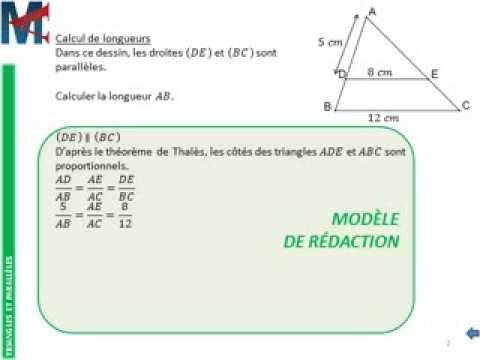 calcul thales