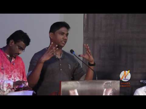 Music Director Sam C S Speech at Vikram Vedha Press Meet Event
