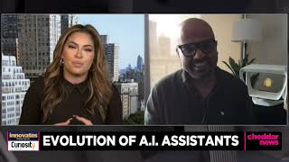 Sidekicks.ai Interview on Cheddar news: How this Holographic AI Assistant can be Used in Education