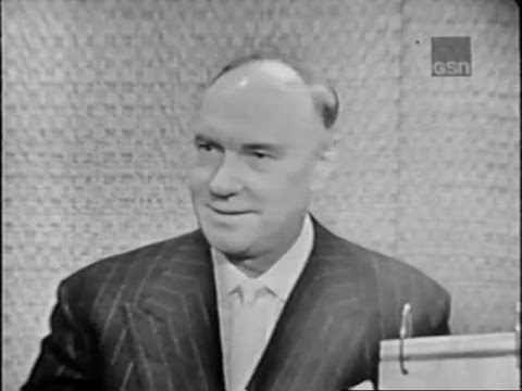 What's My Line? - Ralph Richardson; Peter Cook & Phyllis Newman [panel] (Jul 28, 1963)