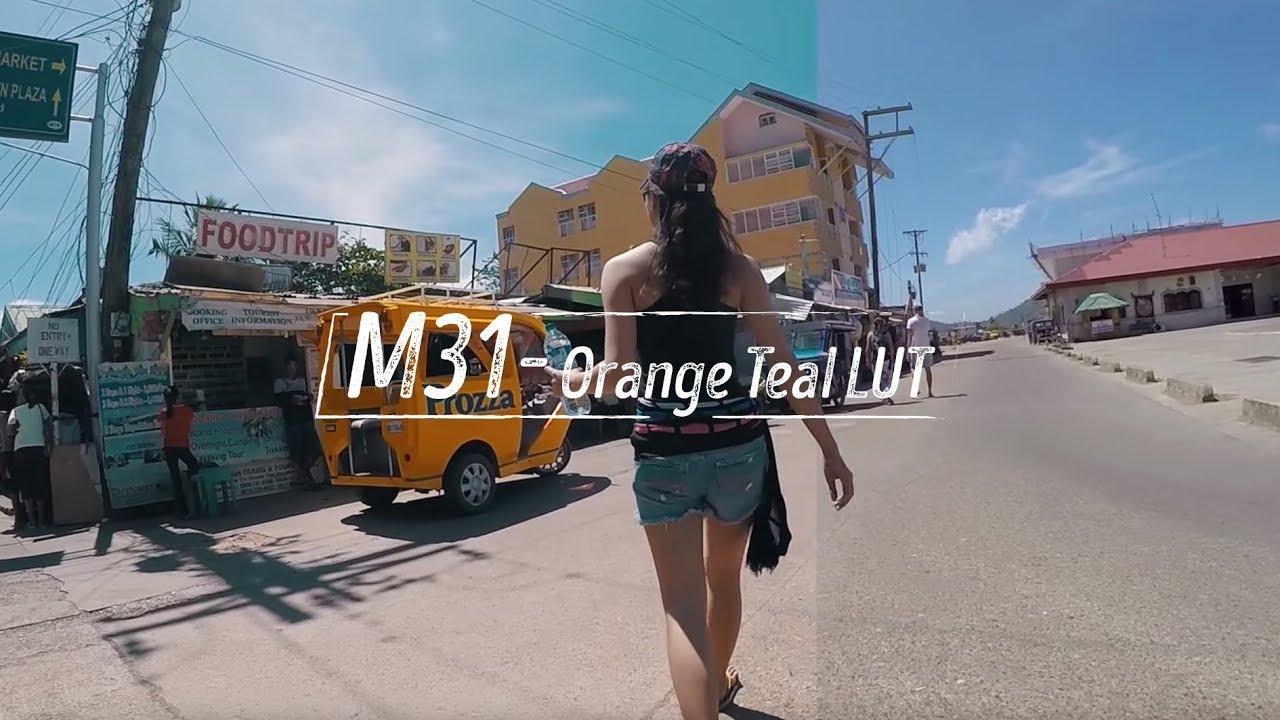 Chỉnh màu Orange & Teal với Osiris M31 Luts