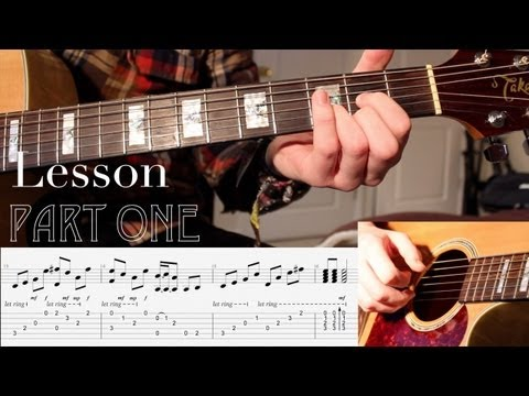 'Stairway To Heaven' by Led Zeppelin - Guitar Lesson - PART 1 - WITH TABS by Karl Golden