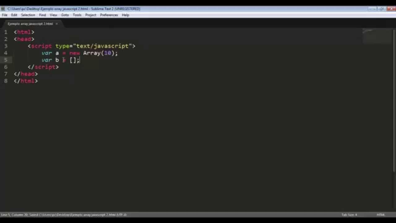 07 Javascript Estructura De Datos Arreglo En Javascript Notacion Tradicional