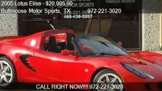 2005 Lotus Elise Base - for sale in LEWISVILLE, TX 75056