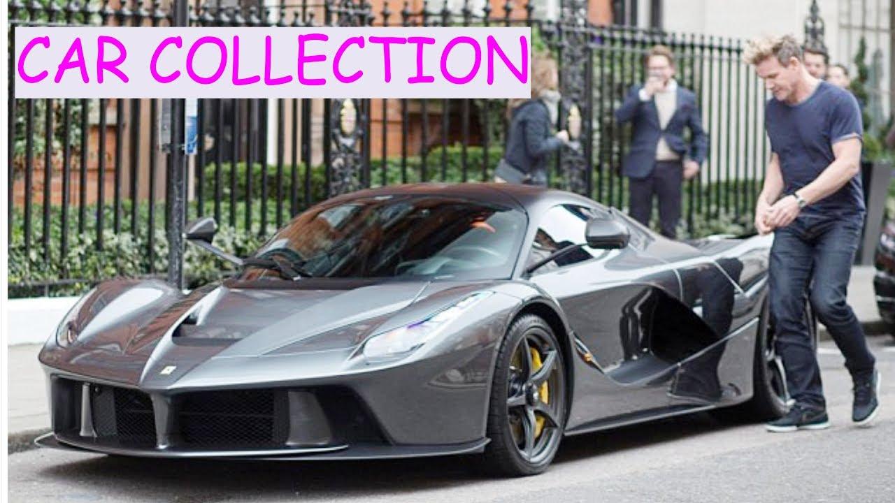 Gordon ramsay (chef) car collection - YouTube