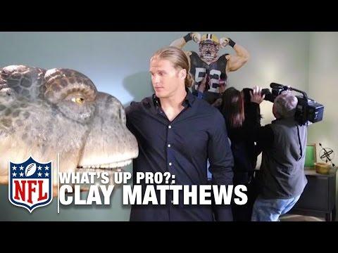 """Clay Matthews """"I"""