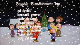 A Charlie Brown Christmas 1965 Opening/Closing