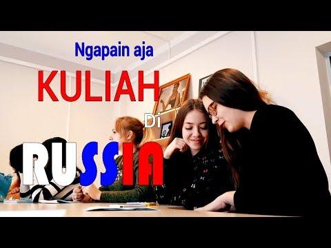 Ngapain aja sih kuliah di Rusia VLOG#18