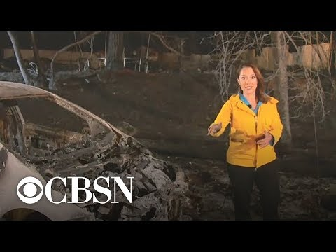 Town of Paradise, California, almost entirely destroyed by Camp Fire