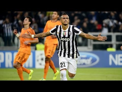Arturo Vidal Vs Real Madrid 2013 Ida y Vuelta