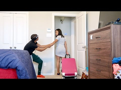 I'M MOVING OUT PRANK ON GIRLFRIEND!!!