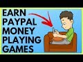MAKE MONEY PLAYING GAMES ($9 Per Play | Direct To PayPal)