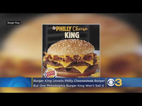 image for Burger King Announces A New Philly Cheesesteak Burger