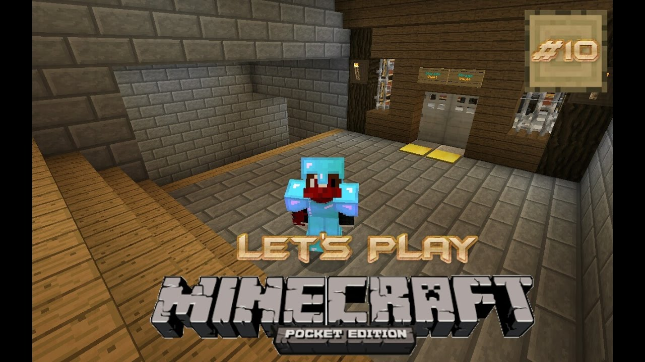 minecraft pe survival house map download