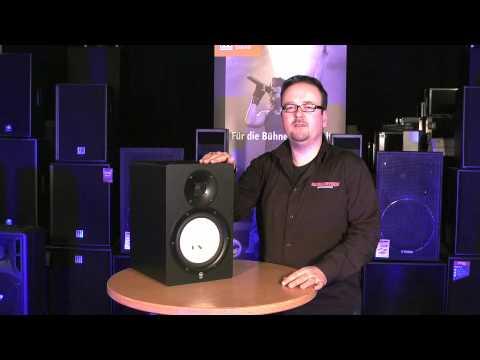 yamaha hs80 monitor aktiv lautsprecher youtube. Black Bedroom Furniture Sets. Home Design Ideas