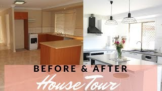 HOUSE TOUR HOME RENOVATION BEFORE AFTER