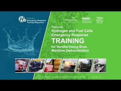 Maritime Fuel Cell Project and Hydrogen Safety Training Video HD