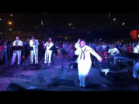 USS Carl Vinson Music Band in Da Nang, VN