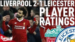 Video Salah Is Special! | Liverpool v Leicester 2-1 | Player Ratings download MP3, 3GP, MP4, WEBM, AVI, FLV Januari 2018