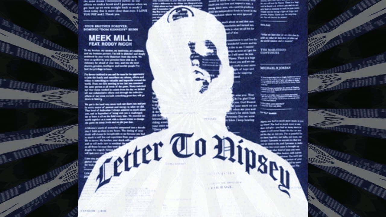 Meek Mill - Letter to Nipsey (feat. Roddy Ricch) [Slowed Down + Reverb]