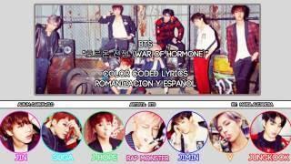 "BTS (방탄소년단) ""호르몬전쟁 (Hormone War)"" [COLOR CODED] [ROM SUBESPAÑOL LYRICS]"