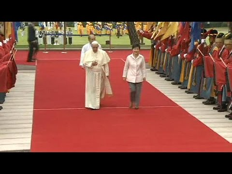 Pope Francis visits South Korea - no comment