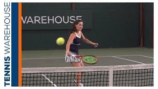 Jamie Loeb Drop Shot Change Up Tennis Drill