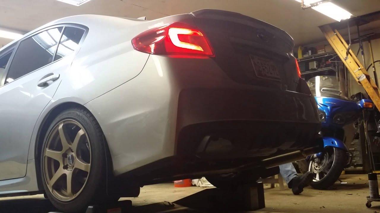 2015 Subaru Wrx Exhaust >> 2015 Subaru WRX - Invidia N1 Single exit catback exhaust - YouTube