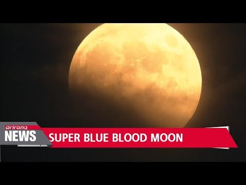 Rare Super Blue Blood Moon Coming Tonight