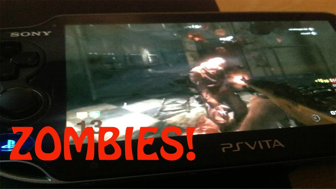 Ps Vita Cod Zombies Zombies Leaked On Black Ops Declassified Ps Vita