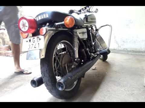Yamaha rd exhaust