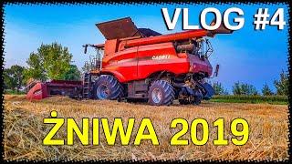 Żniwa 2019| Odczepianie Hederu | Case Axial Flow 7240| Vlog #4