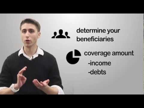 Life Insurance in Three Easy Steps