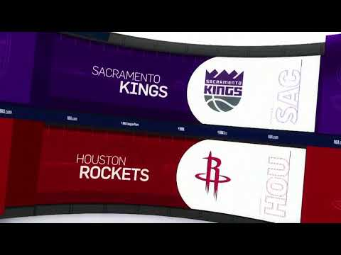 Houston Rockets vs Sacramento Kings Game Recap | 11/17/18 | NBA