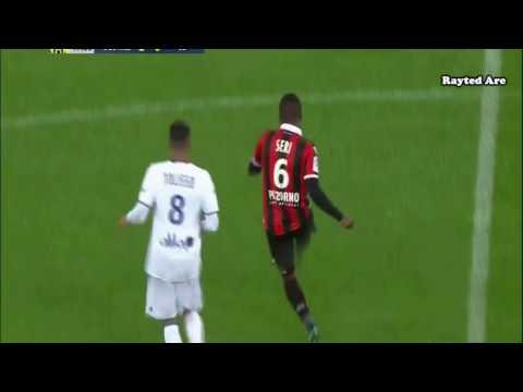 Jean Michael Seri (Nice) vs Lyon (H) (16/17)