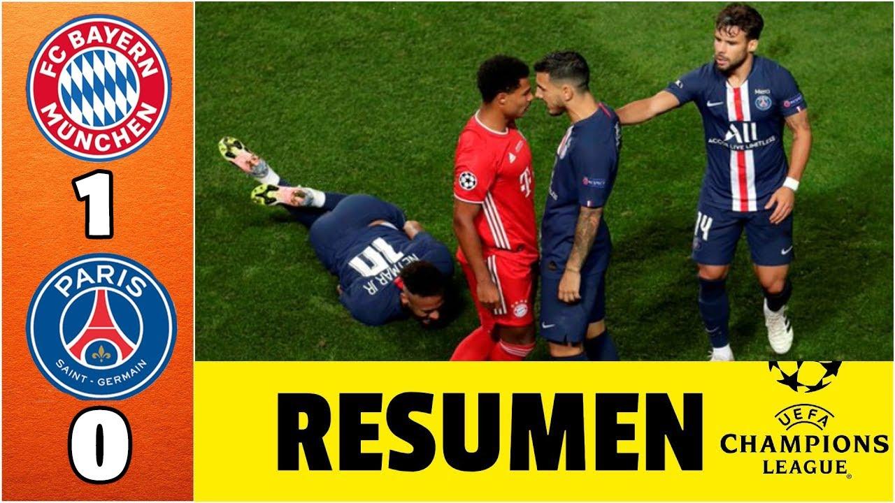 Psg 0 1 Bayern Munich En Vivo Fox Sports La Final 2020 Youtube