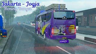 PO Ramayana Travego Jakarta - Jogja full dangdut