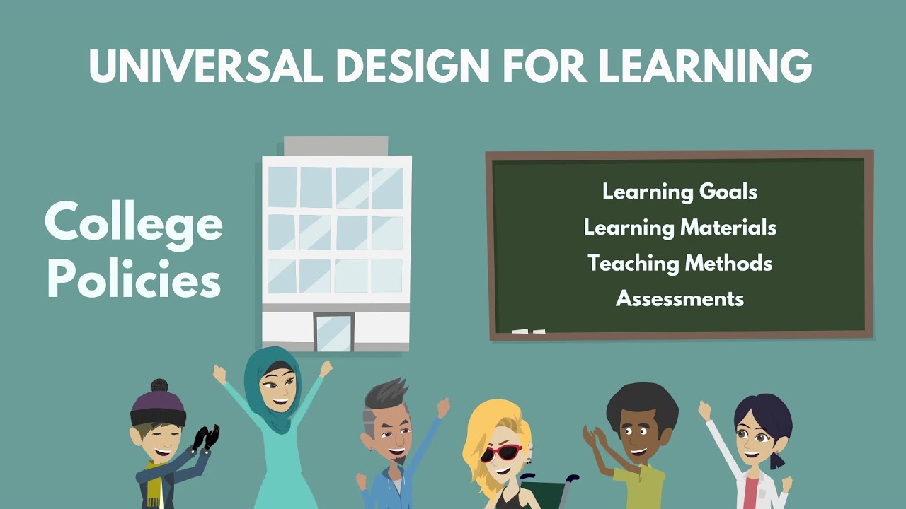 What Is Universal Design For Learning Udl Youtube