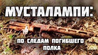 Нашли погибших солдат у лесного озера/Раскопки второй мировой войны