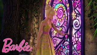Cекретная дверь  Barbie Россия мультфильмы для детей Отрывки из фильмов Барби