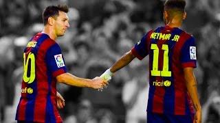 Lionel Messi & Neymar Jr - Destroying Defences 2015 ||HD||
